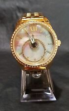 STARHALO by ANDROID MOTHER-OF-PEARL GOLDTONED WOMEN'S WATCH W/SWAROVSKI CRYSTALS