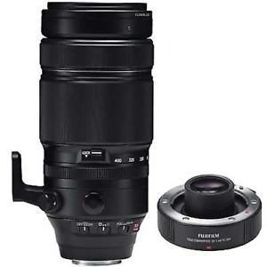 Fujifilm 100-400mm f4.5-5.6 R LM OIS WR Fujinon Lens with 1.4X Teleconverter