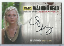 2016 The Walking Dead Season 4 Emily Kinney as Beth Greene Auto/Autograph #EK2