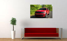 "JEEP GRAND CHEROKEE SRT8 PRINT WALL POSTER PICTURE 33.1"" x 20.7"""