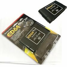 PAL/NTSC ED64 Plus N64 Game Console Save Device Cartridge + 16GB SD Card Adapter