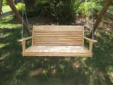 Cypress  Porch Swing / Adults Swing/ Porch Swing/ Large Porch Swing/Patio Swing