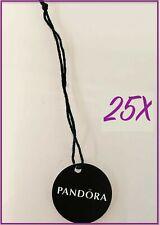 Pandora | Authenticity Jewelry Tags ✪New✪ 25X Authentic Rare Round Logo Retail