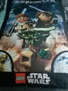 Children's Lego Star Wars Single Reversible Duvet Set Unused