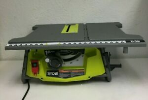 RYOBI RTS23 Portable Table Saw 10 in. 15 Amp Motor Blade Guard System, RR593