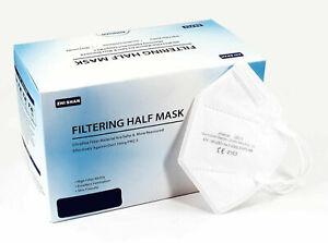 30xFFP2 Maske 5-lagig zertifiziert Atemschutz Mundschutz ZHISHAN Maske ✅CE 2163