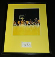 Jerry West 16x20 Signed Framed 1995 Lakers Ticket & Photo Display JSA