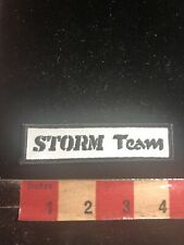 (? Though To Be Martial Arts Related ?) Storm Team Patch 01Rn