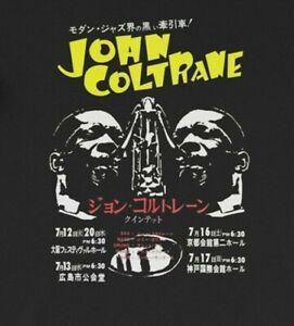 John Coltrane Rare 66 Japan Tour Concert Jazz Band Unisex T-Shirt, S-5XL