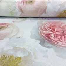 Arthouse Diamond Bloom Pink Floral Blush Glitter Wallpaper 257000