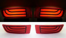 2 Red Neon Rear Tail Marker Bumper Lights for Mercedes Sprinter W906 2006-2015