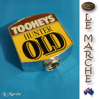 Collectors TOOHEYS Hunter OLD Beer Tap Top Good Condition Home Bar Gear