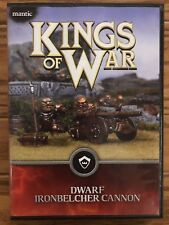 Kings of War Dwarf Ironbelcher Cannon