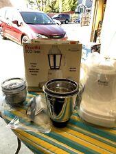 Preethi Eco Twin Jar Electric Countertop Mixer Grinder w 2 Jars 550-Watt MG146