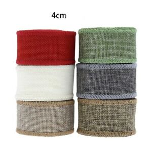 1 lot Grid Hemp Ribbons for Diy Craft Packaging Decor (30m,5 meters each color)