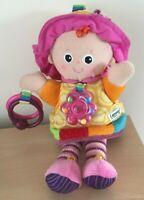 """Lamaze Baby Sensory Emily Doll Activity Plush Soft Toy 11"""""""
