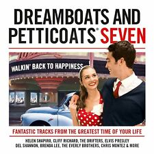 Dreamboats And Petticoats 7 ~ NEW 2CD 1950's / 60's Hits Pop + Rock & Roll Music