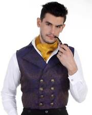 Men's Aristocrat Vest Steampunk, High quality hand crafted one by one COOL!!
