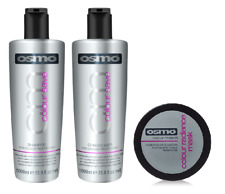 Osmo Colour Save Shampoo 1000ml, Conditioner 1000ml and Radiance Mask 100ml