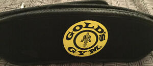 Gold's Gym Belt, Size Small-Medium. Nylon Barbell Weightlifting.