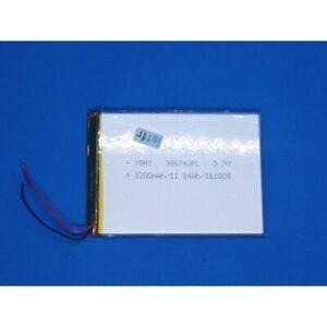 Batterie Battery AllDayMall A88X YQHY 386793PL 3.7V 3200mAh