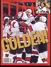 2002 Time Magazine Canada Edition Hockey No Label Newsstand 3/4/02 Ex 19891