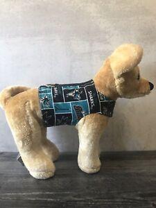 San Jose Sharks Dog Vest Harness Size XXS