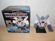 TRANSFORMERS- WHEELJACK COLD CAST BUST- HARD HERO