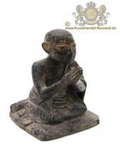 Alte Burma Holzfigur, Figur Buddhismus als Betender Mönch 18 Jhr.
