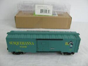Menards O/O-27 Scale Susquehanna NYSW Box Car #279-2634 EX
