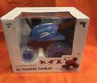 SHARPER IMAGE RC 360 Rally Car Thunder Tumbler Remote Control [Blue]