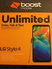 Boost Mobile LG Stylo 4