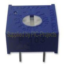 2 * 10k POTENTIOMETERS preset ohms resistor variable Bournes 3386P-1-103