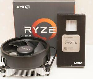 AMD Ryzen 5 1600X 3.6 GHz Turbo 4.0 GHz 6 Core 12 Threads AM4 Processor Cooler