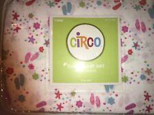 Circo Twin Sheet Set Fitted/ Flat /Pillowcase ~ 3 Pieces ~ Flip Flop / Tropical