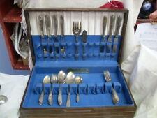 Vintage Silverplated Flatware 1941 FANTASY Tudor Plate Oneida Community #2253