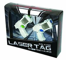 Laser Tag Shooting Game, 2 x keyring guns, fun novelty cool Xmas gift idea 6098