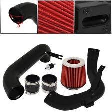 "For Honda Civic 12-15 DX/LS/EX 1.8L Cold Air Intake Black 3"" Air Filter Red"