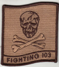 VF-103 JOLLY ROGERS DESERT COMMAND CHEST PATCH