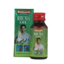 Baidyanath Rhuma Massage Oil 50ml Relieve different types of joint & Muscle pain