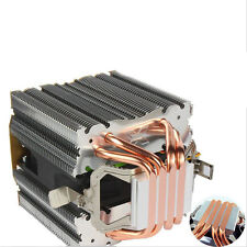 4 Heatsink CPU Cooler Silent Fan For Intel LGA 1150 1151 1155 775 1156 AMD A2Z2