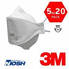 3M Aura 9205+ N95 NIOSH Protective Disposable Face Mask Particulate Respirator