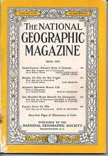 national geographic-MAY 1955-ONE HUNDRED HOURS BENEATH THE CHESAPEAKE.