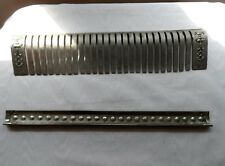 Antique National Cash Register Model 349 Parts Nickel Comb & Plate