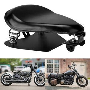 Bid Motorrad Solo Sitz Mit Grundplatte Halterung Federhalter für Harley Bobber