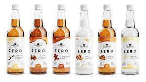 Coffee Syrups - 0 Calorie, Sugar Free, Keto Friendly - Three Kings Pantry - Zero