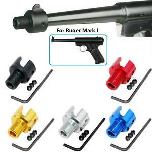 """Ruger .22 Mark 1,2,3 Tapered 1/2""""x28 TPI Muzzle Brake Adapter - Color Var"""