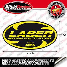 Adesivo/Sticker LASER ALTE TEMPERATURE 200 GRADI SCARICHI EXHAUST HIGHT QUALITY