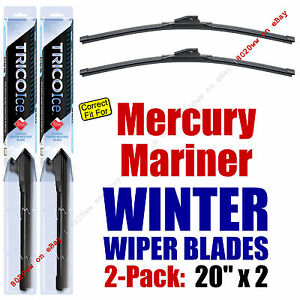 WINTER Wipers 2-Pack Premium Grade - fit 2008-2011 Mercury Mariner 35200x2