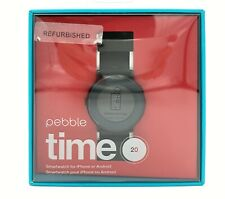 Pebble Time Round Smartwatch 20mm Black - Used Condition Free Shipping